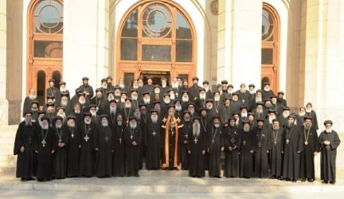 المجمع المقدس للكنيسه القبطيه الارثوذكسيه