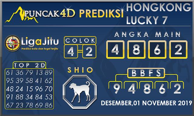PREDIKSI TOGEL HONGKONG LUCKY7 PUNCAK4D 01 DESEMBER 2019