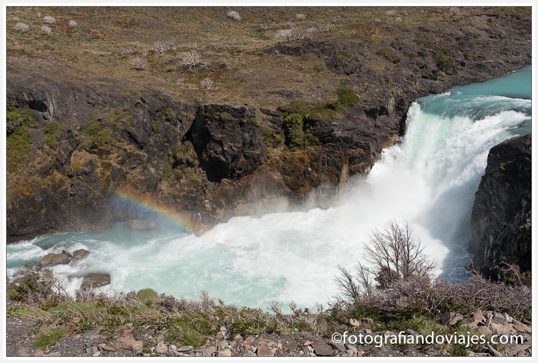 Cascada Salto Grande en Parque Torres del Paine