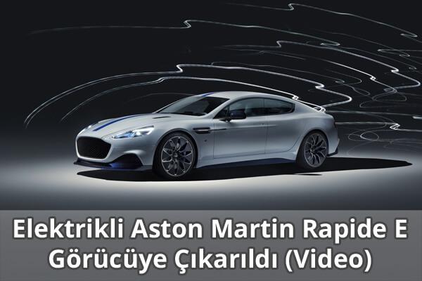 Elektrikli Aston Martin Rapide E Özellikleri