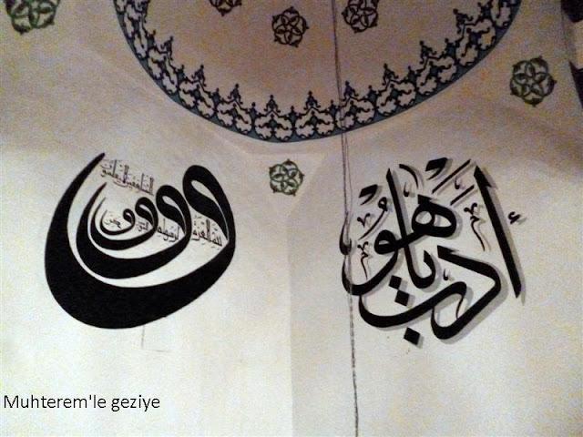 cami hat yazıları