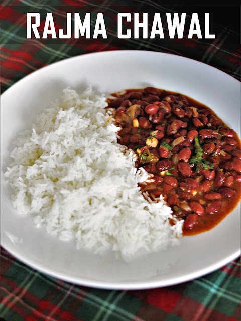 Recipe - Rajma Chawal