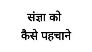 संज्ञा को कैसे पहचाने, लोगो ने संज्ञा के बारे में क्या पूछा एवं संज्ञा से संबंधित प्रश्न - sangya kaise pahachane