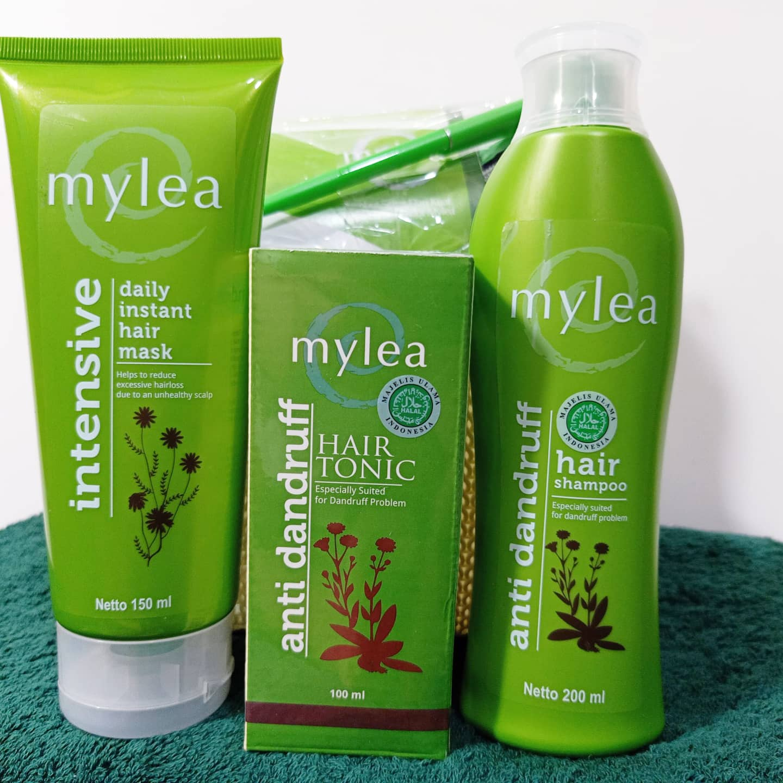Mylea perawatan rambut rontok dan berketombe