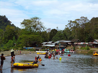 Bendungan Brayen (beurayeun) tempat wisata murah meriah di Aceh Besar