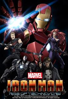 Iron Man Rise of Technovore (2013) ไอรอน แมน ปะทะ จอมวายร้ายเทคโนมหาประลัย
