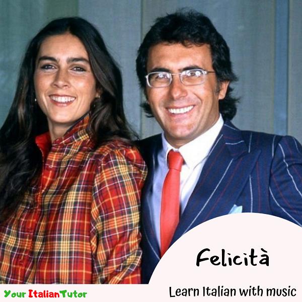 Your Italian Tutor Learn Italian With Music Felicità Al Bano E Romina Power