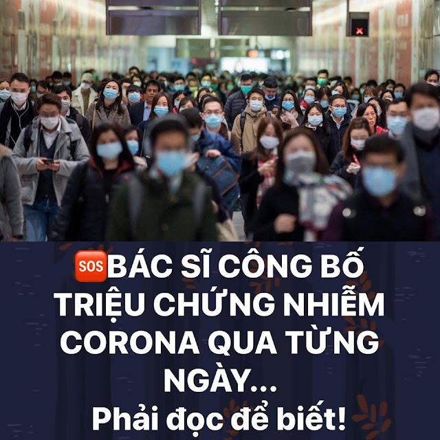 Triệu chứng nhiễm Virus Corona qua từng ngày