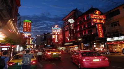Chinatown di Bangkok