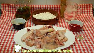 Receta fácil de pollo con tempura y pimentón