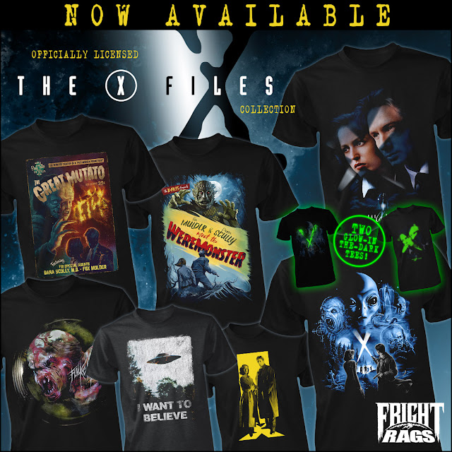 X Files Fright Rags Image
