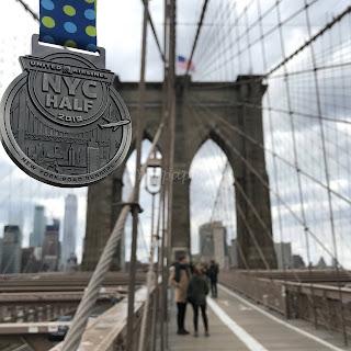 United NYC Half 2019 medaille