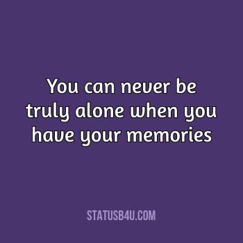 Beautiful Memories Status