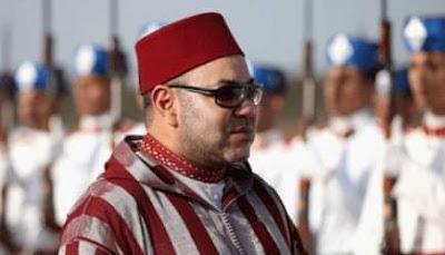 جلالة الملك محمد السادس نصره الله  يحل  بمراكش