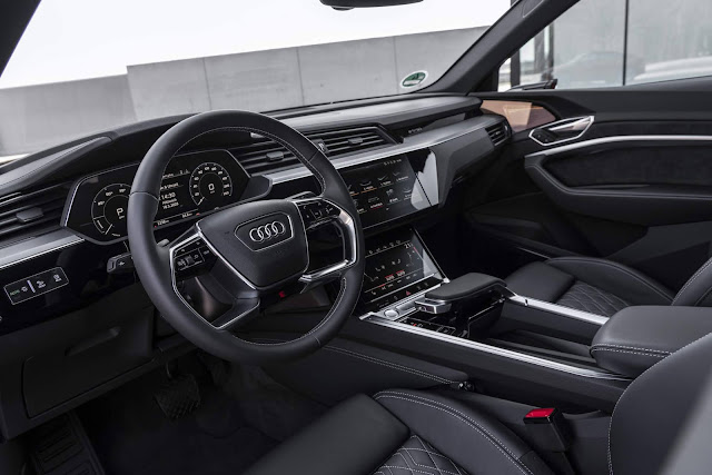 Audi e-tron Sportback elétrico chega ao Brasil - R$ 512 mil