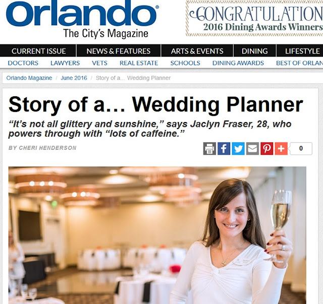 At Last Weddings coordinator Jaclyn Fraser news article