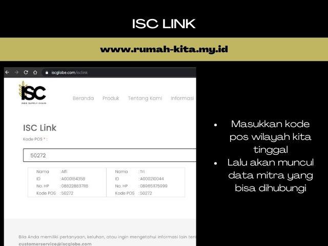 belanja via ISC link