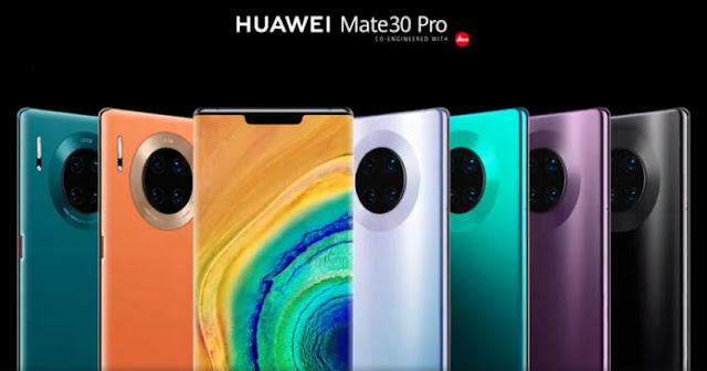 Ponsel Huawei Terbaru, Huawei Mate 30 Pro