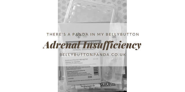 Adrenal Insufficiency www.bellybuttonpanda.co.uk