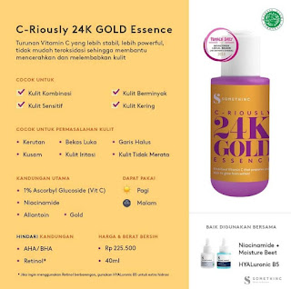 Somethinc Criously 24K Gold Essence