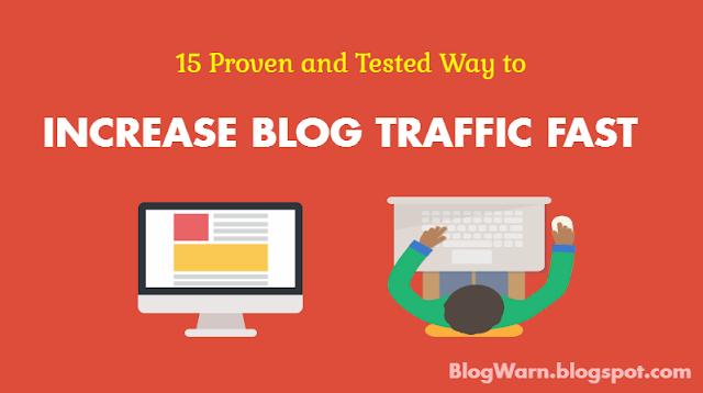 increase blog traffic, increase website traffic