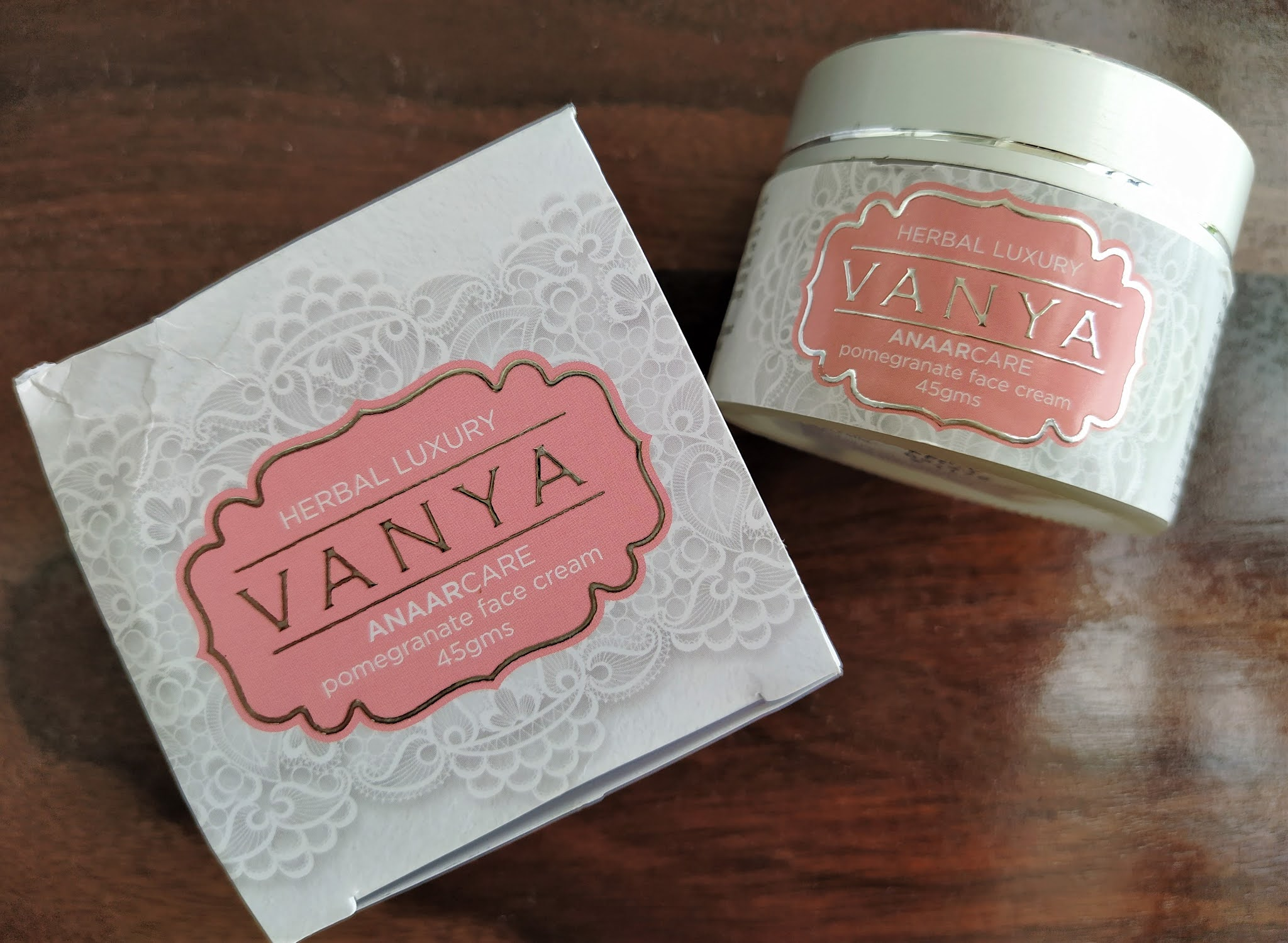 Vanya herbal face cream review