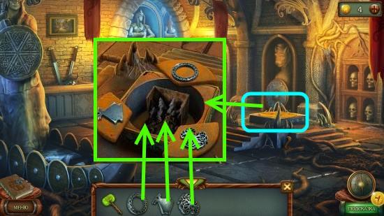 ставим символы на свои места в игре наследие 3 дерево силы