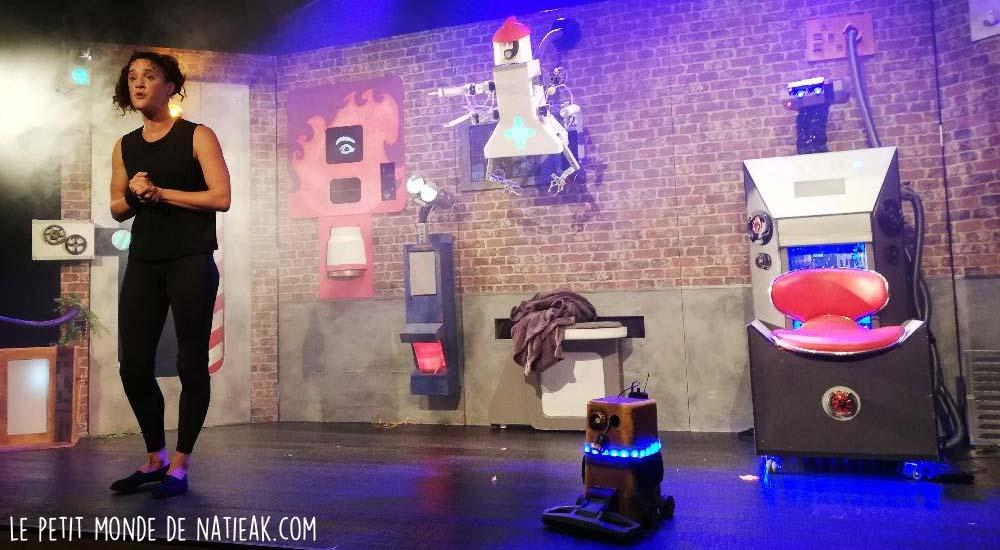 avis spectacle enfant Loomie et les robots