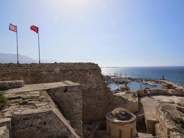 North Cyprus Day Trip: Kyrenia Castle walls