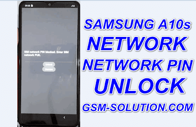 How To Network Unlock Samsung A10s New Method.