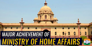 2019 major achievement ministry of home affairs MHA