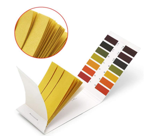 amiciKart PH Test Strips Acid Test Paper Water Litmus Testing Kit 80 Sheets