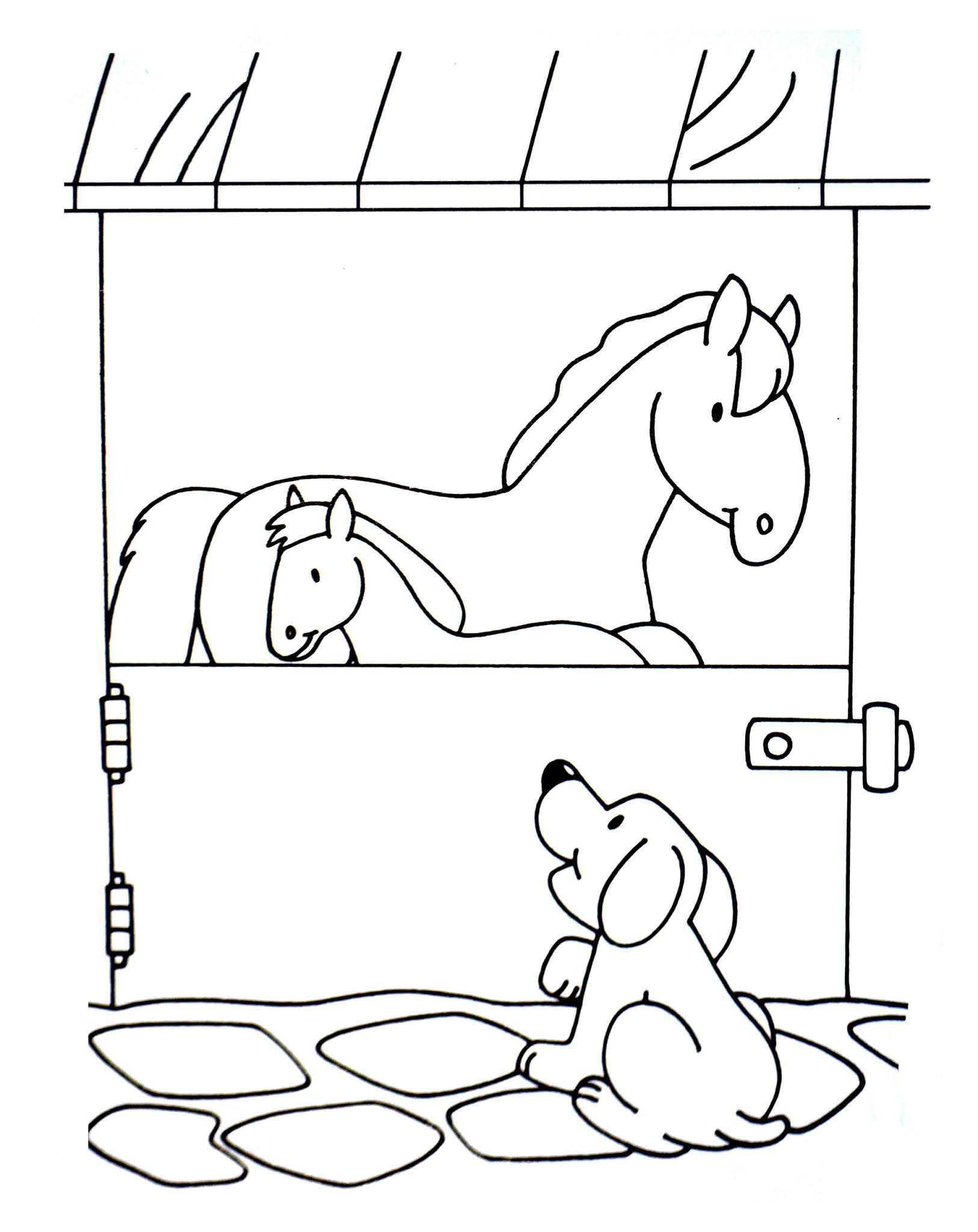 Dogs coloring pages 67