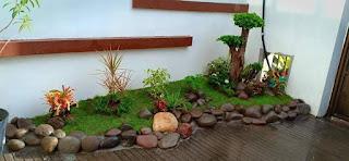 Taman minimalis buat sendiri