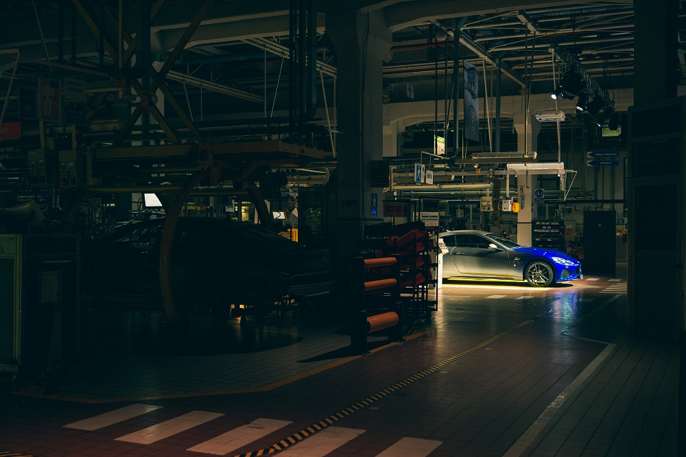 A night at the Maserati plant in Modena