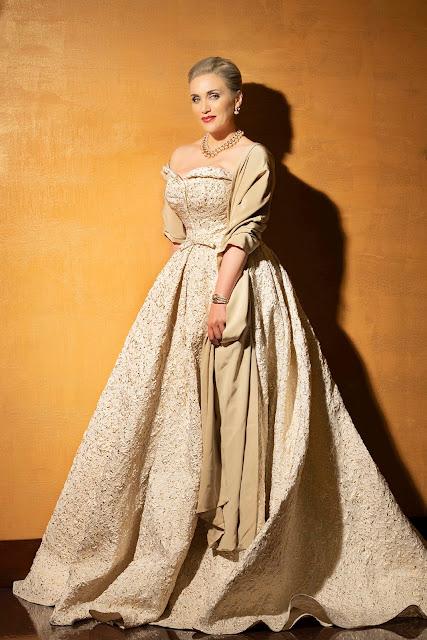 Italian Soprano Carmen Giannattasio Who Is A Brand Ambassador For Bulgari Will Be Making Her San Francisco Opera And Role Debuts As Tosca