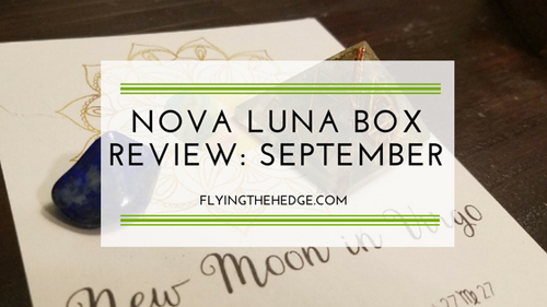 Nova Luna Box Review: September