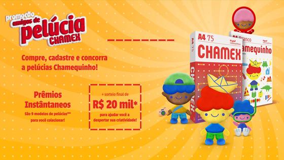 Promoção Amigos de pelúcia Chamex