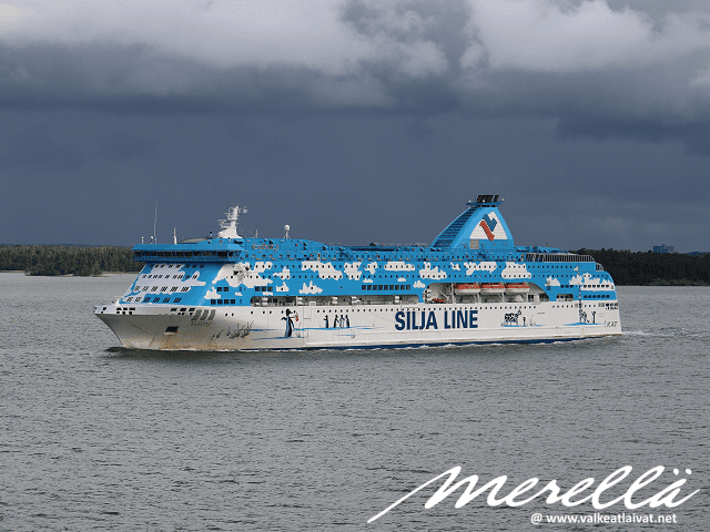 Silja Line Galaxy Tallinna - Turku Baltic Queen Tallink