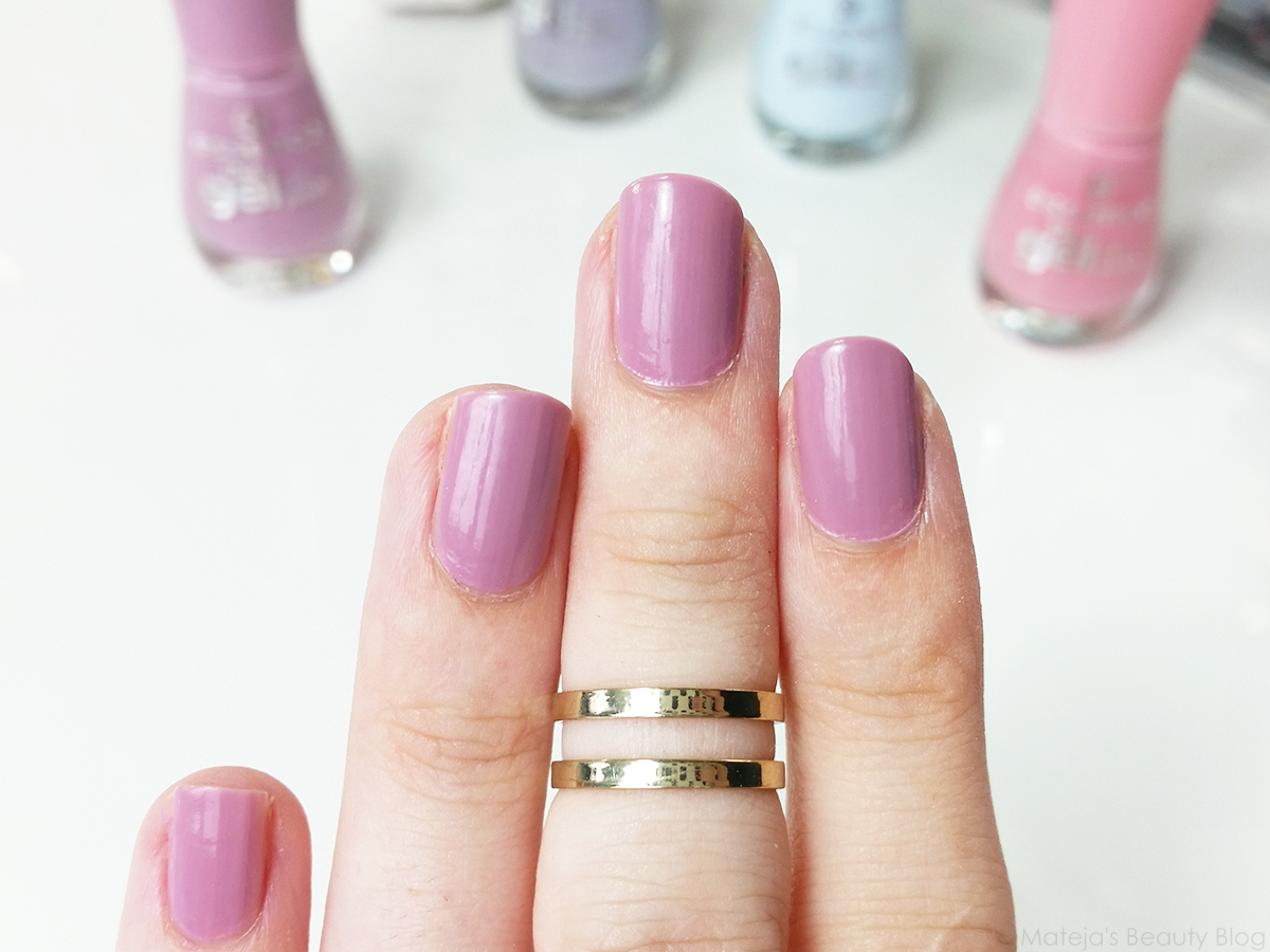 Essence The Gel Nail Polish 01 Absolute Pure - To Bend Light