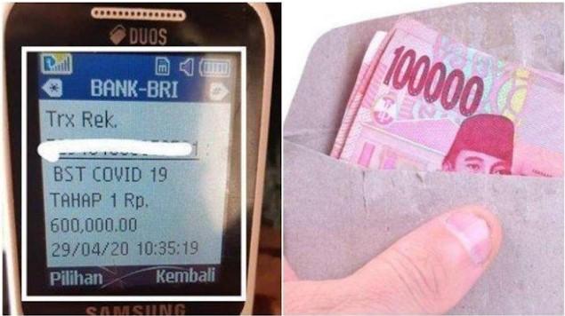 Bansos Rp 600 Ribu, Cara Mendapat Bantuan Sosial Kemensos, Ditransfer ke Rekening BRI dan POS