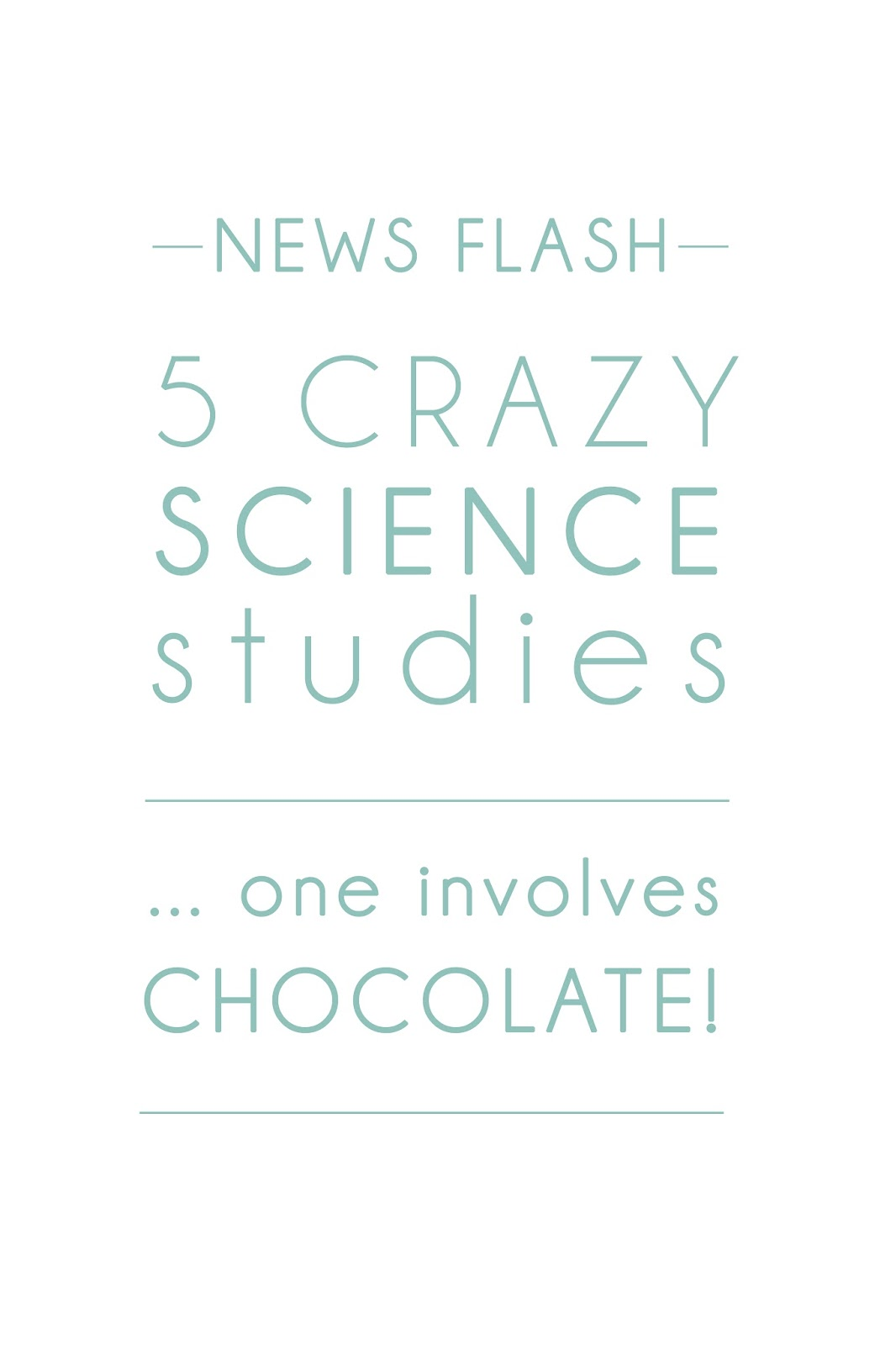 5 Crazy Science Stories - www.beaucience.co.uk