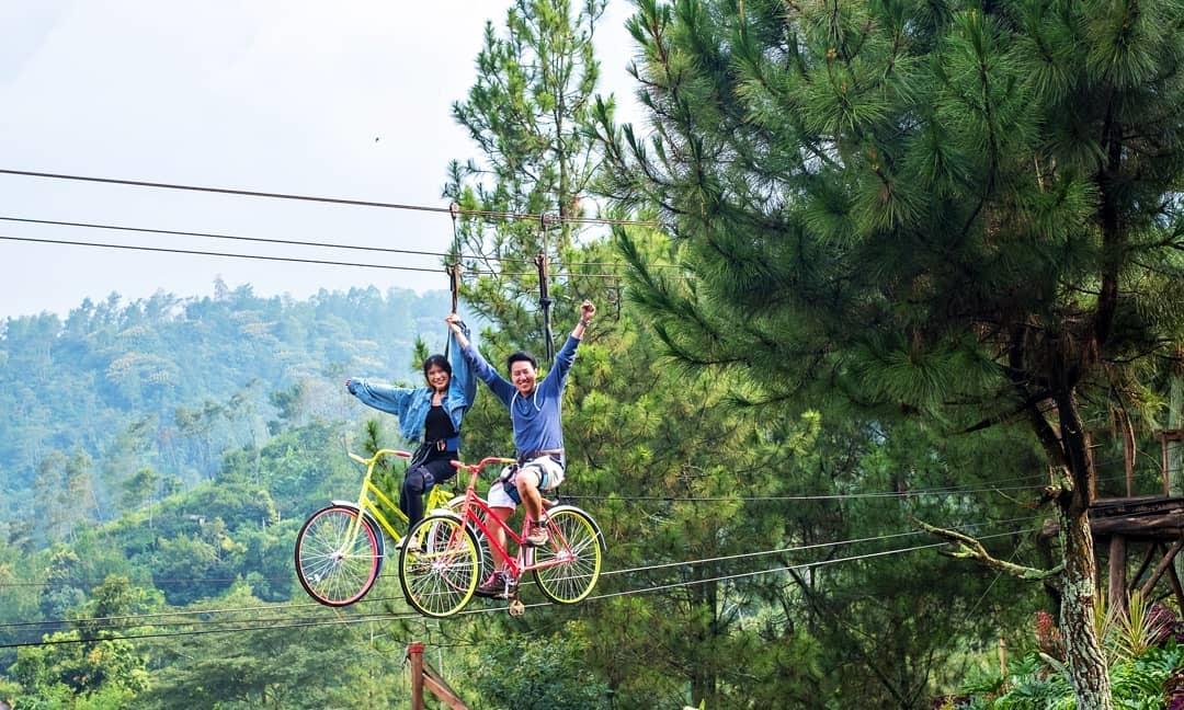 Spot Foto Taman Selecta Batu Malang