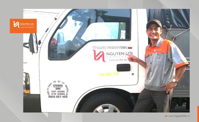 thuê xe tải chuyển nhà bình tân tphcm