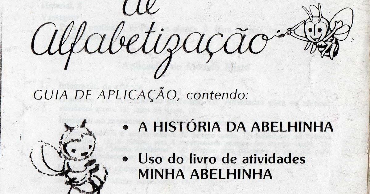 ALFABETIZANDO COM ABELHINHA: MANUAL DA ABELHINHA