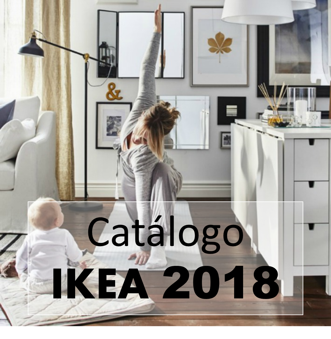 decoraci n f cil cat logo ikea 2018 las primeras imagenes de sus ambientes. Black Bedroom Furniture Sets. Home Design Ideas