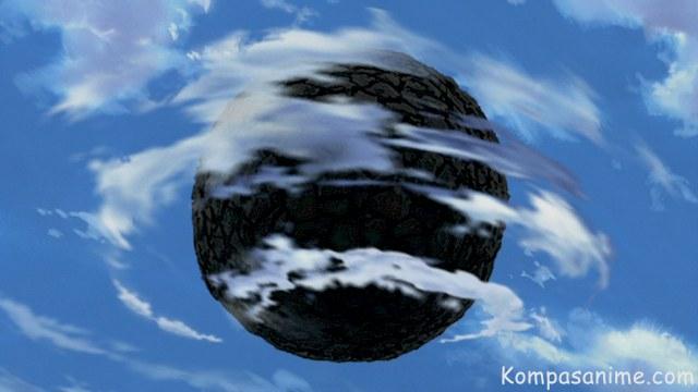 Kekuatan rinnegan untuk membuat sebuah miniatur planet dengan gaya gravitasi
