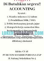 Dibutuhkan Segera Tenaga Kerja di PT. Buton Mandiri Perdana Exp Surabaya November 2019