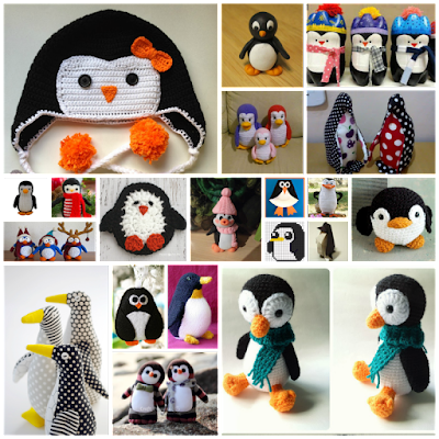 pinguinos en manualidades diversas