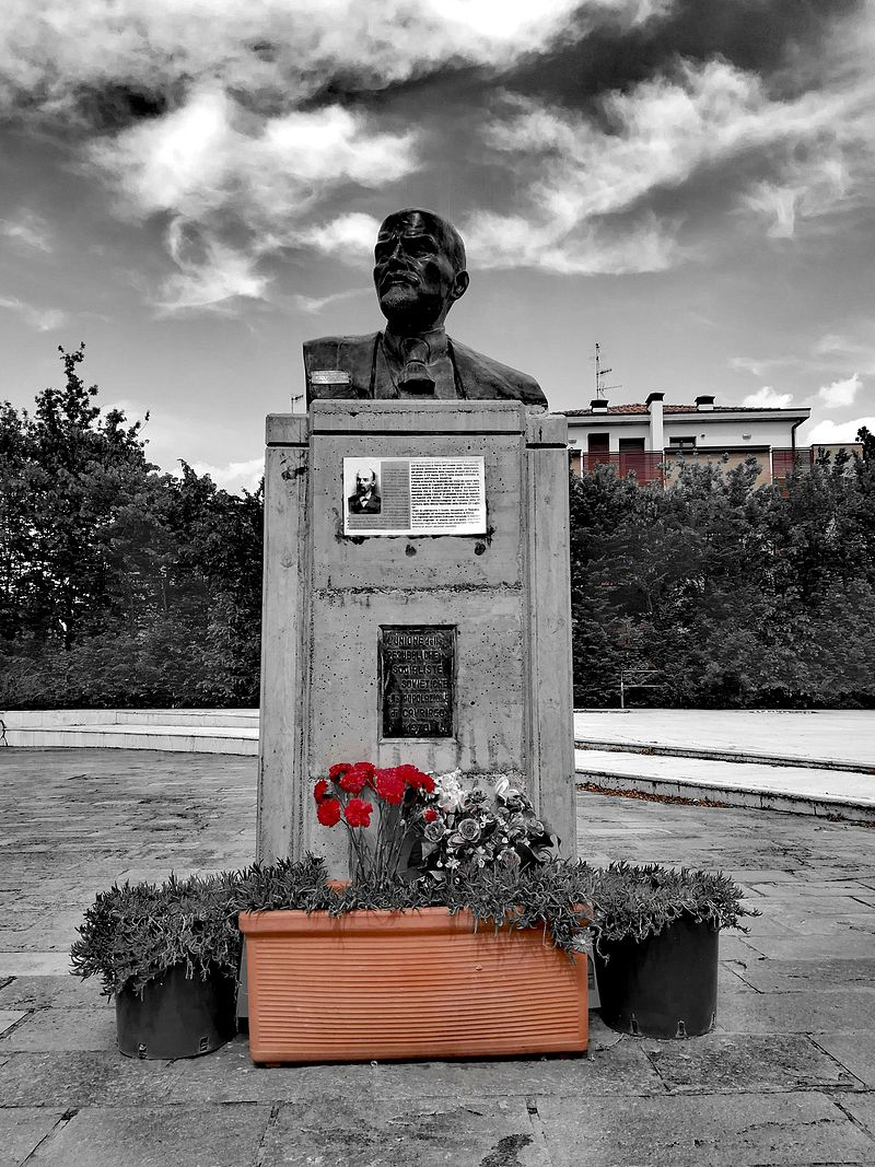 Lo Sapevi Che Il Busto di Lenin è un monumento situato a Cavriago